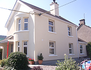 External Wall Insulation - James Doran & Son Plastering Contractor